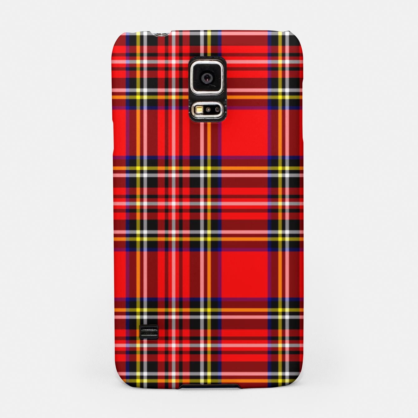 Image of Miss Tartan Samsung Case - Live Heroes
