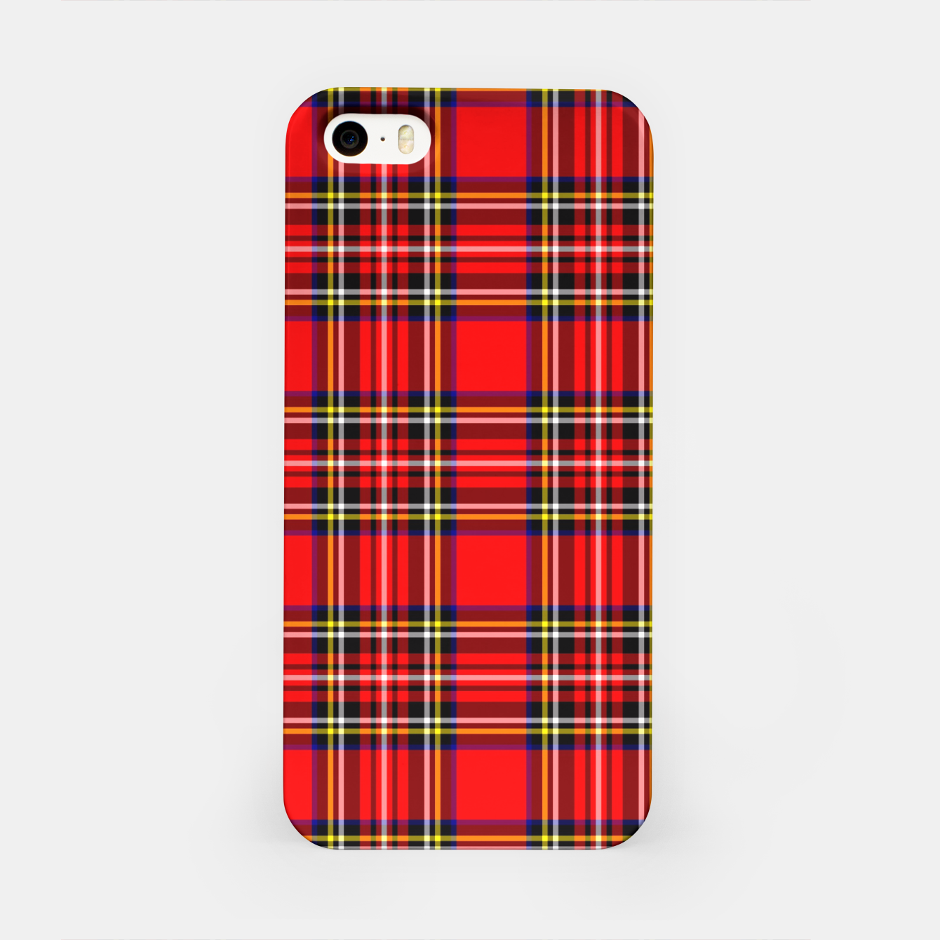 Image of Miss Tartan iPhone Case - Live Heroes