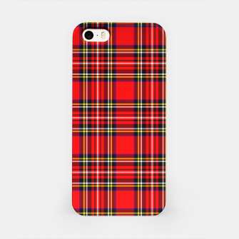 Thumbnail image of Miss Tartan iPhone Case, Live Heroes