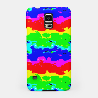 Miniaturka Colorful Digital Abstract Collage Print Samsung Case, Live Heroes