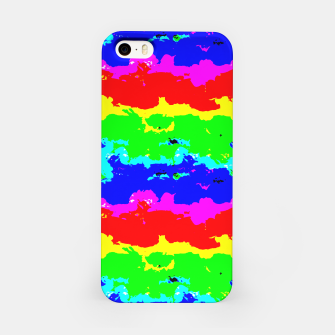 Miniaturka Colorful Digital Abstract Collage Print iPhone Case, Live Heroes