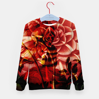 Thumbnail image of Vintage Bloom Kid's Sweater, Live Heroes