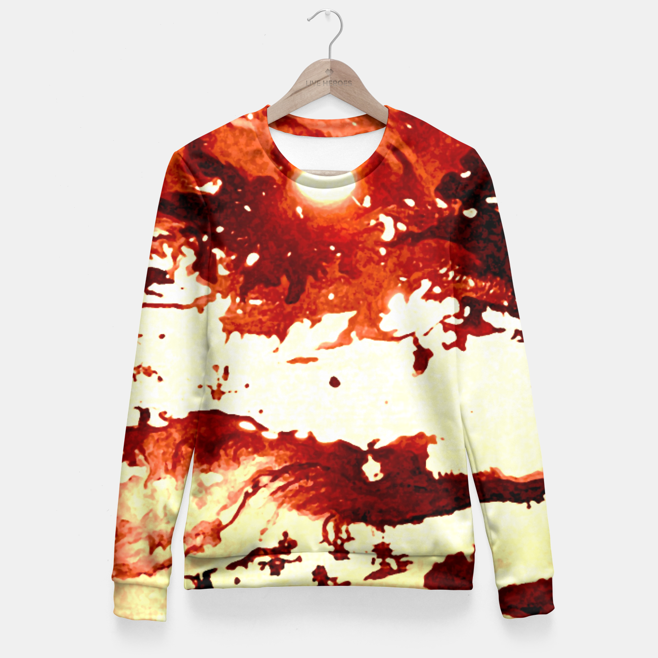 Image de Flowing Brown  Fitted Waist Sweater - Live Heroes