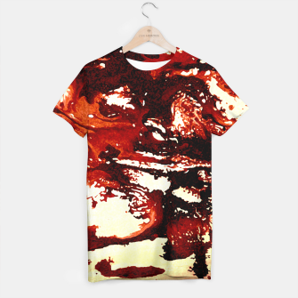 Flowing Brown  T-shirt miniature