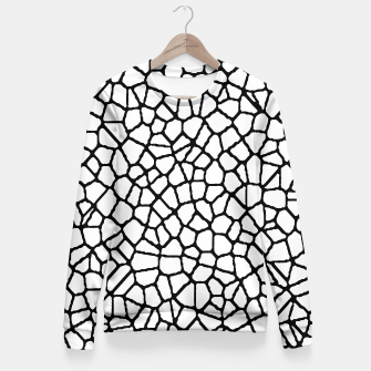 Thumbnail image of staklo (white/black) fitted waist sweater, Live Heroes