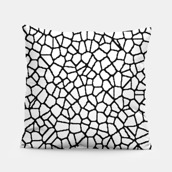 Thumbnail image of staklo (white/black) pillow, Live Heroes