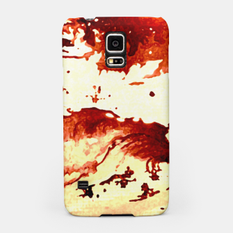 Flowing Brown  Samsung Case miniature