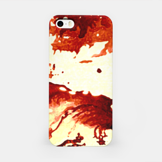 Flowing Brown  iPhone Case miniature