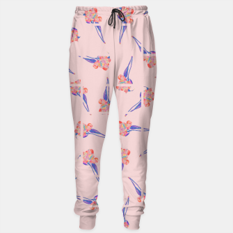 Thumbnail image of Floral Grid Sweatpants, Live Heroes