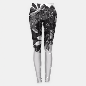Thumbnail image of No parachutes for plants Leggings, Live Heroes