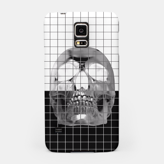 Miniatur Skully B&W Samsung Case, Live Heroes