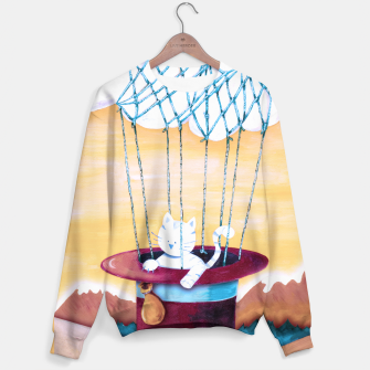 Thumbnail image of The cat traveling in dreams Sudadera, Live Heroes