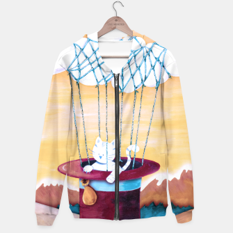 Thumbnail image of The cat traveling in dreams Sudadera con capucha, Live Heroes