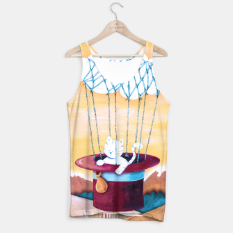 Thumbnail image of The cat traveling in dreams Camiseta de tirantes, Live Heroes