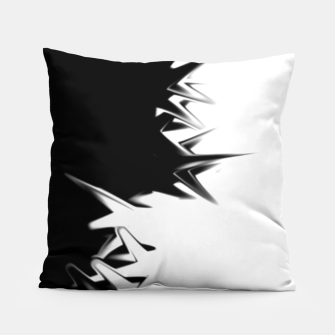 Thumbnail image of B&W Pillow Cozy, Live Heroes