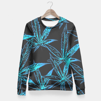 Thumbnail image of Ganja Trippin Fitted Waist Sweater, Live Heroes