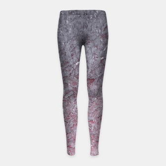 Thumbnail image of Ice Crystals Girl's Leggings, Live Heroes