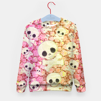 Thumbnail image of Cute Girly Skulls  Kid's Sweater, Live Heroes