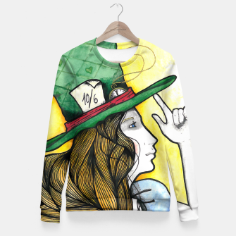 Imagen en miniatura de Where is my hat? Sudadera entallada, Live Heroes