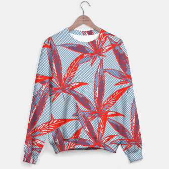 Thumbnail image of Red Blue Ganja Sweater, Live Heroes
