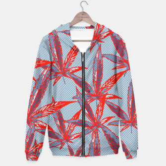 Thumbnail image of Red Blue Ganja Hoodie, Live Heroes