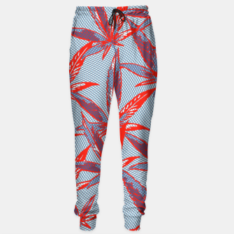 Thumbnail image of Red Blue Ganja Sweatpants, Live Heroes