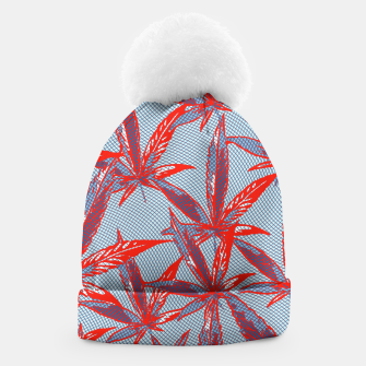 Thumbnail image of Red Blue Ganja Beanie, Live Heroes