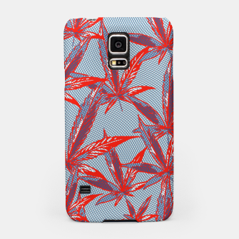 Thumbnail image of Red Blue Ganja Samsung Case, Live Heroes