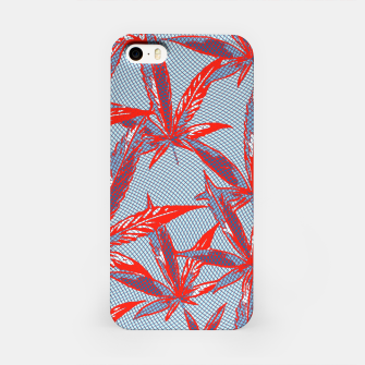 Thumbnail image of Red Blue Ganja iPhone Case, Live Heroes