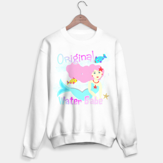 Thumbnail image of Girly Cute Mermaid Water Babe  Sweater, Live Heroes