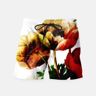 Thumbnail image of Vintage Bunch Swim Shorts, Live Heroes