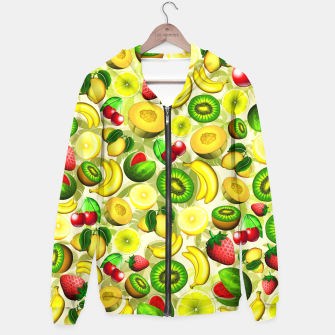 Thumbnail image of Summer Fruits Juicy Pattern  Hoodie, Live Heroes