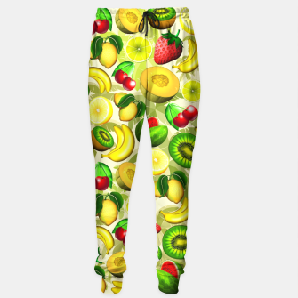 Thumbnail image of Summer Fruits Juicy Pattern  Sweatpants, Live Heroes