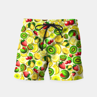 Thumbnail image of Summer Fruits Juicy Pattern  Swim Shorts, Live Heroes