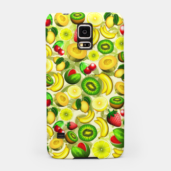 Thumbnail image of Summer Fruits Juicy Pattern  Samsung Case, Live Heroes