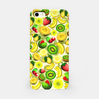 Thumbnail image of Summer Fruits Juicy Pattern  iPhone Case, Live Heroes