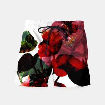 Thumbnail image of Vintage Blooms Swim Shorts, Live Heroes