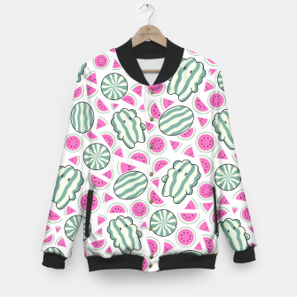 Watermelon Steven Baseball Jacket thumbnail image