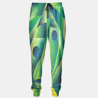 Thumbnail image of Cubist Abstract Of Village Woman Wearing A Headscarf Sweatpants, Live Heroes