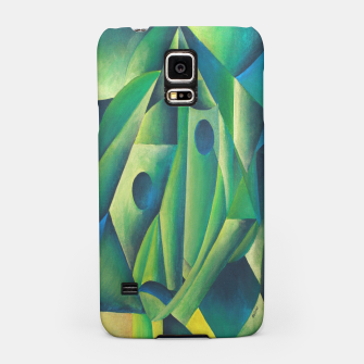 Thumbnail image of Cubist Abstract Of Village Woman Wearing A Headscarf Samsung Case, Live Heroes