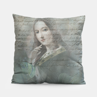 Thumbnail image of Vintage Woman Cushion , Live Heroes