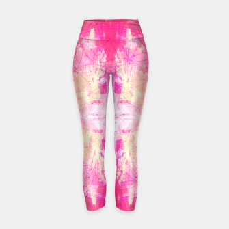 Thumbnail image of Pink flower of life Yoga Pants, Live Heroes