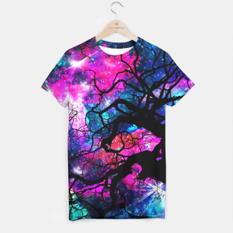 Starfield Tree T-shirt obraz miniatury