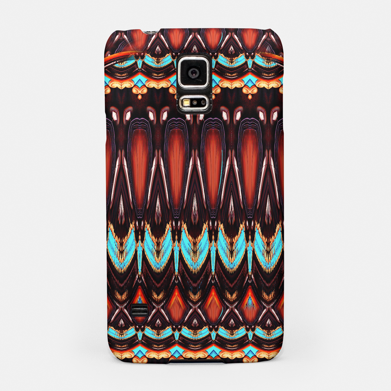 Image of K172 Wood and Turquoise Abstract - Live Heroes