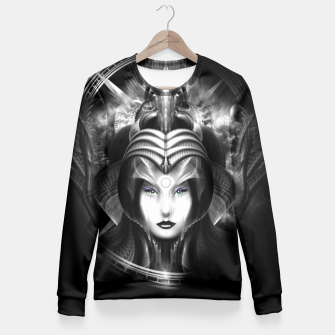Xzendor7 Realm Of Fractal Fantasies Fitted Waist Sweater thumbnail image