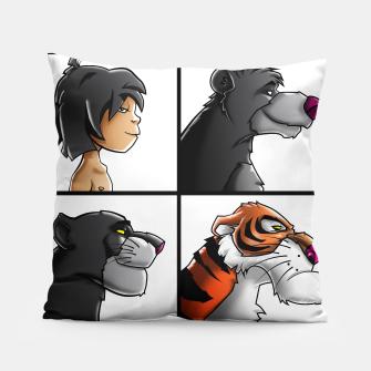 Thumbnail image of Jungle Days Pillow, Live Heroes