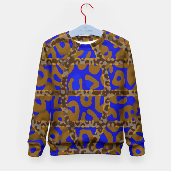 Thumbnail image of Psychedelic Trippy Cheetah Abstract  Kid's Sweater, Live Heroes