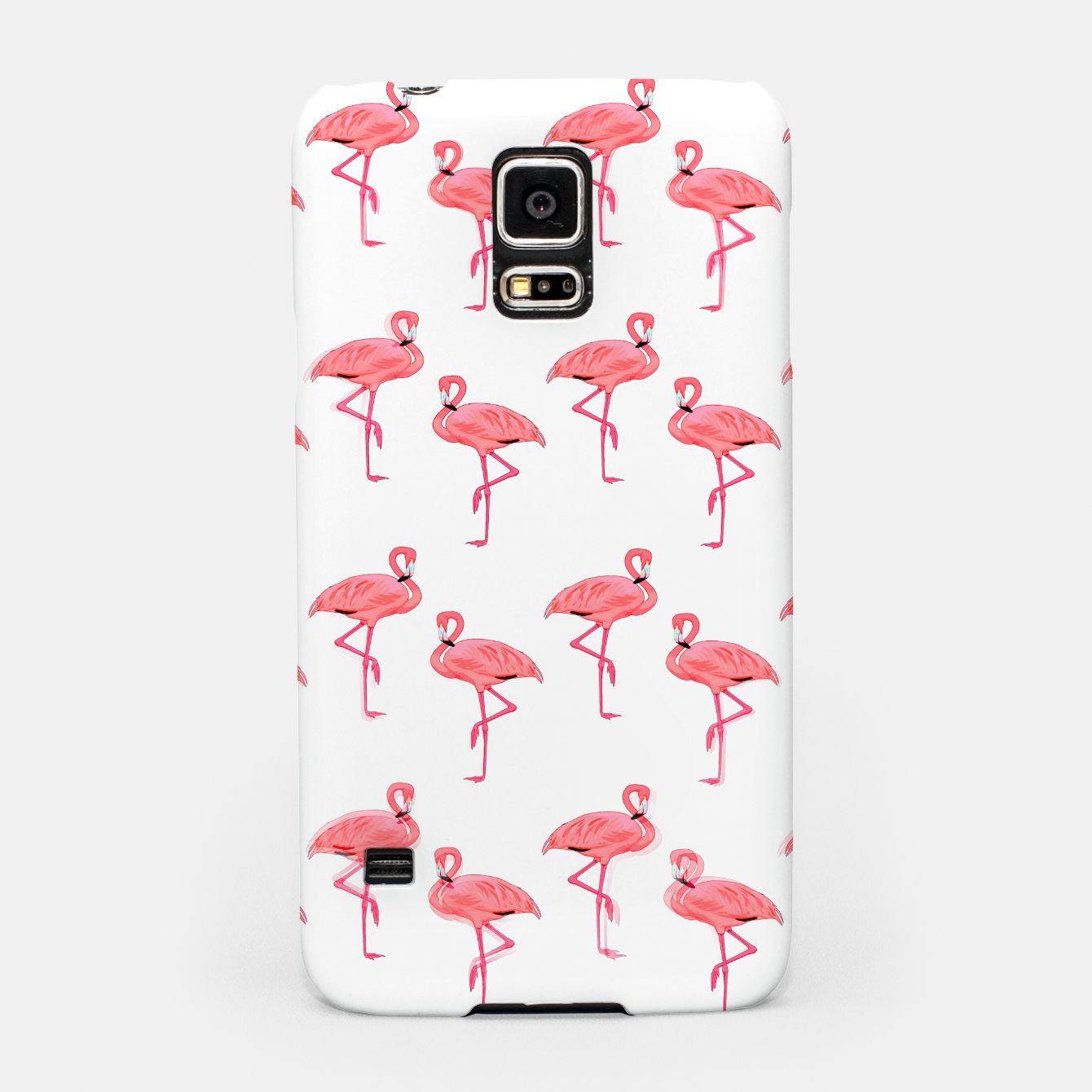 Image of Classic Pink Flamingo Pattern Samsung Case - Live Heroes