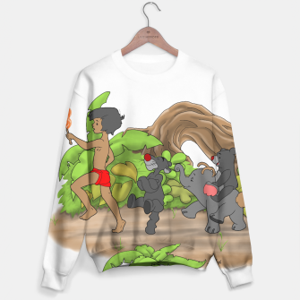 Thumbnail image of Red Flower March Sweater, Live Heroes