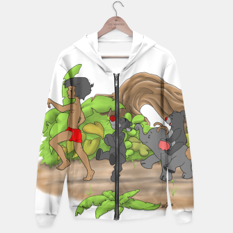 Thumbnail image of Red Flower March Hoodie, Live Heroes